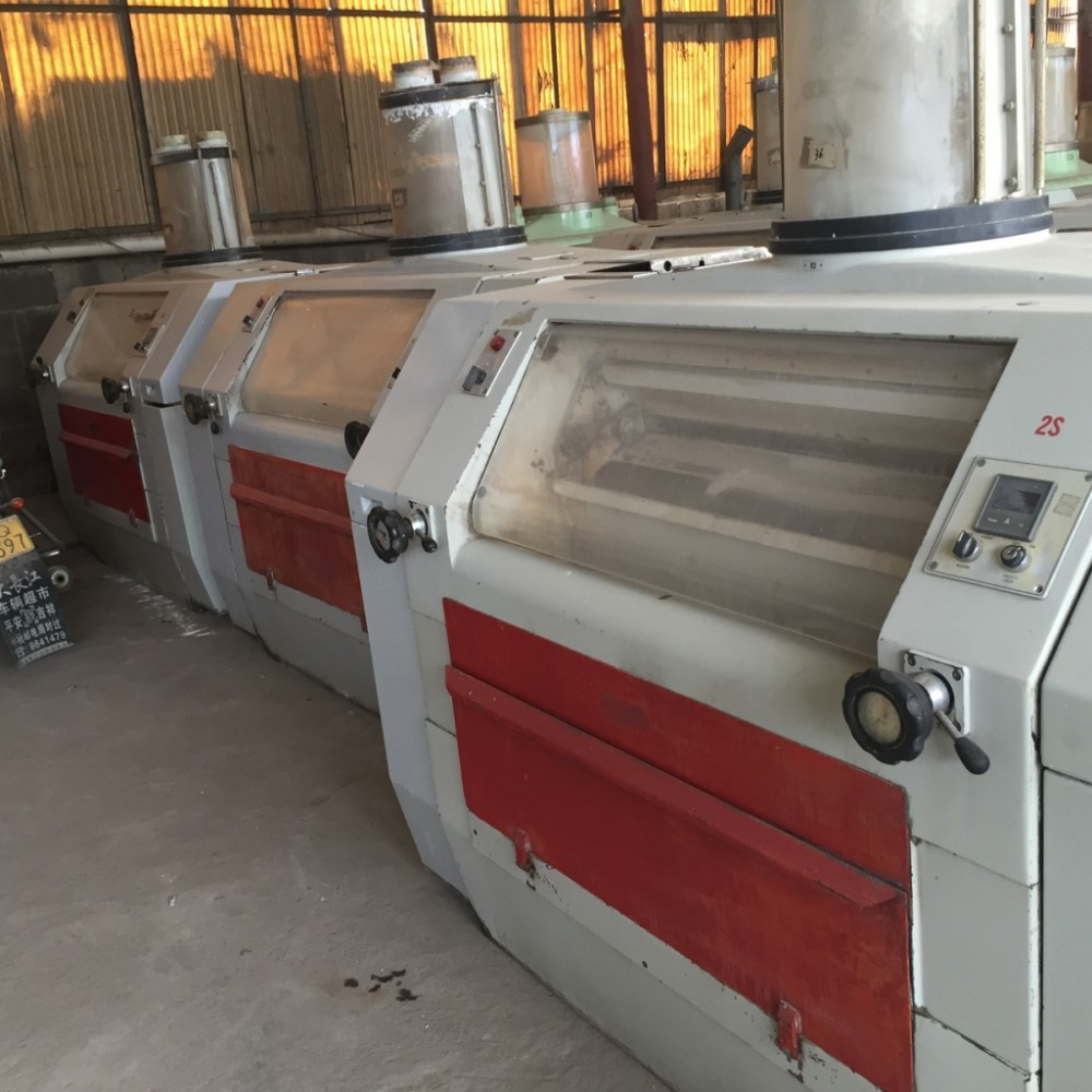 Used Ocrim Rollermills with belt driving systems