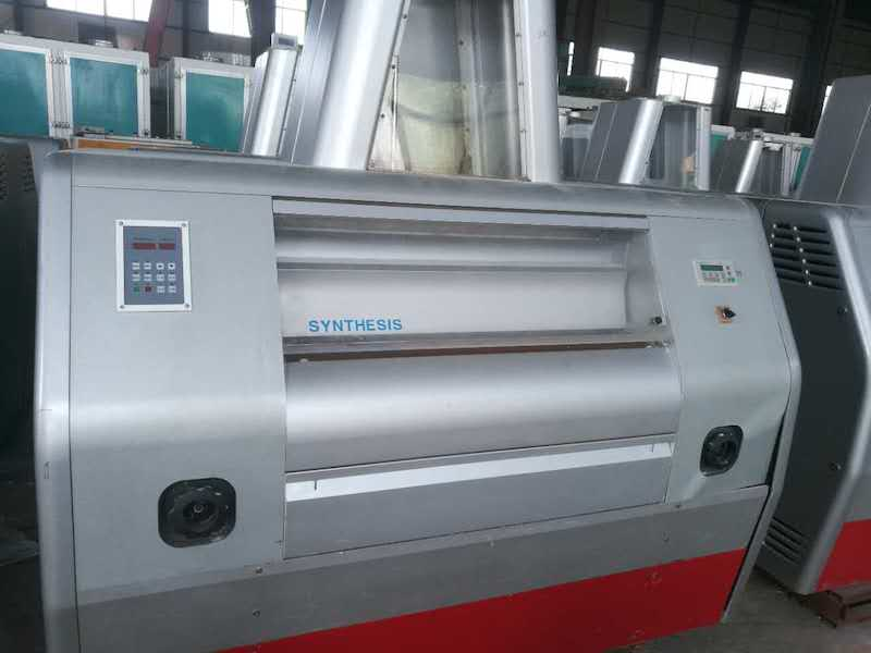USED GBS ROLLER MILL AUTOMATIC FEEDING ROLLS 300X1000 CHILLED ROLLS